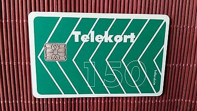 Phonecard Norway 150 Units Used Very Good Condition Rare