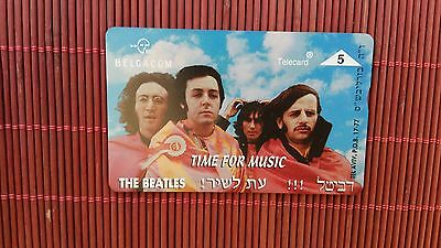 Private Card The Beatles Time For Music  (Mint,Neu) Catalogue 40 Euro Rare