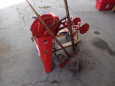 RARE ANTIQUE 1933 Gravely Model D Single Wheel Tractor Walk Behind Cultivator