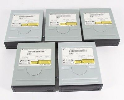 Lot of 5- HITACHI LG DATA STORAGE GCR-8483B CD ROM DRIVE