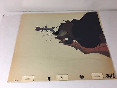 Don Bluth SECRET OF NIMH Hand-Painted Original Animation Production Cel 1982