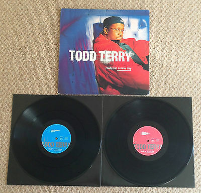 """TODD TERRY - READY FOR A NEW DAY, 2 x 12"""" VINYL LP, MANIFESTO, 536 076-1 (1997)"""