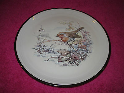 Beautiful Purbeck Pottery Robin 8 Inch Plate