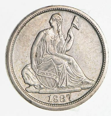 1837 Seated Liberty Half Dime- Near Uncirculated *2378