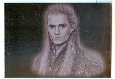 Legolas Bronze Foil Parallel #2 - Lord of the Rings Masterpieces (2006)