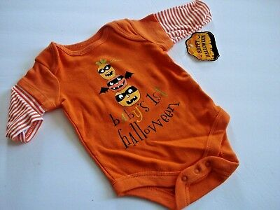 Boys Outfit Baby's First  Halloween Size 0-3
