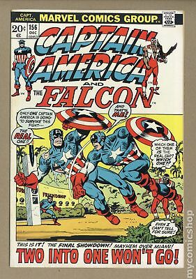 Captain America (1968 1st Series) #156 FN+ 6.5