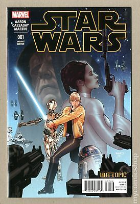 Star Wars (2015 Marvel) #1HOTTOPIC NM 9.4