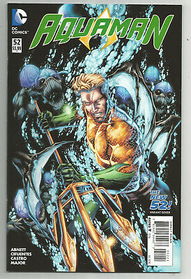 Aquaman # 52 * New 52 * Variant * Near Mint