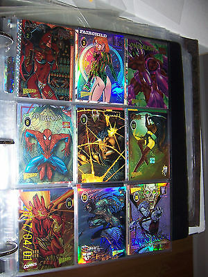 Select any 3 Wizard Promo cards Series 1 2 3 4 Marvel Spawn Wildcats Savage