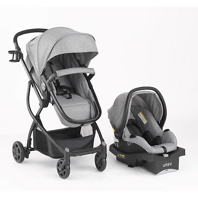 Baby Stroller Car Seat 3in1 Travel System Infant Carriage Buggy Bassinet New