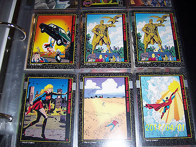 Select any 3 Insert Chase cards From Death of Superman C3 C6 C7 C8 C9