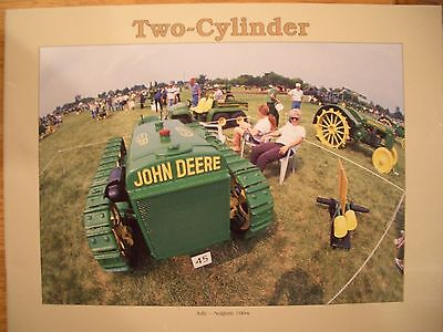 John Deere Tractor Photographs and Information 1994 TWO CYLINDER magazine Green
