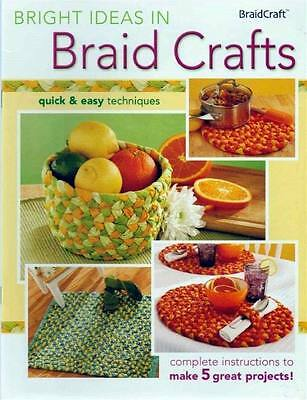 New Braid Crafts Rug Placemat Bowl And More Easy Designs