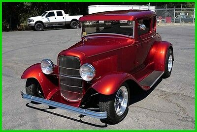 1931 Ford Model A 2 Door Coupe Street Rod Custom AllSteel 1931 StreetRod ShowCar 350/350 9 Inch 4WPDB PS AC 30 32 34 36
