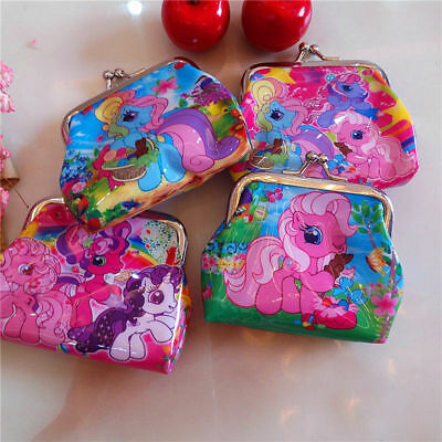 My Little Pony Children Coin Purse Wallet Hasp package Party Favors Xmas Gifts