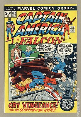 Captain America (1968 1st Series) #152 FN- 5.5