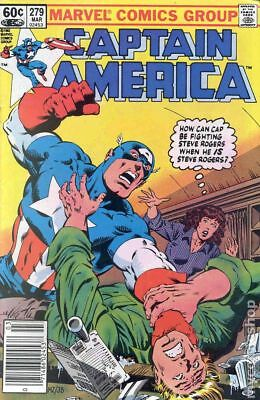 Captain America (1968 1st Series) #279A VF