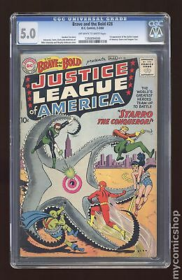 Brave and the Bold (1955 1st Series DC) #28 CGC 5.0 1260894006