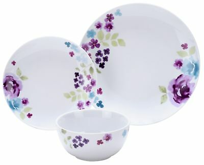 The Collection Somerton 12 Piece Stoneware Dinner Set - Floral -From Argos ebay