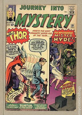 Thor (1962-1996 1st Series Journey Into Mystery) #99 GD+ 2.5