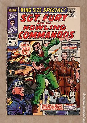 Sgt. Fury (1963) Annual #5 FN/VF 7.0