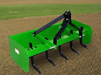 5ft (1,500mm) Box Scraper, Adjustable Tynes, (Category 1) 3-Point-Linkage