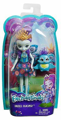 Enchantimals Patter Peacock Doll *BRAND NEW*