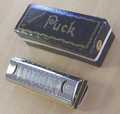 Harmonica diatonic Hohner Puck new Do - C Pretty, musical, ideal for beginners