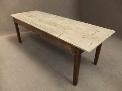 Pine Scrub Top Kitchen Farmhouse Table 200Cm