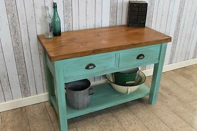 150Cm Handmade Industrial Style Toolmakers Sideboard Shabby Chic Made To Order