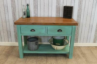 Industrial Style Toolmakers Sideboard Distressed Shabby Chic Unit