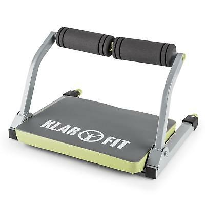 Siège exercices musculation fitness abdos dos bras jambes fessiers gris & vert