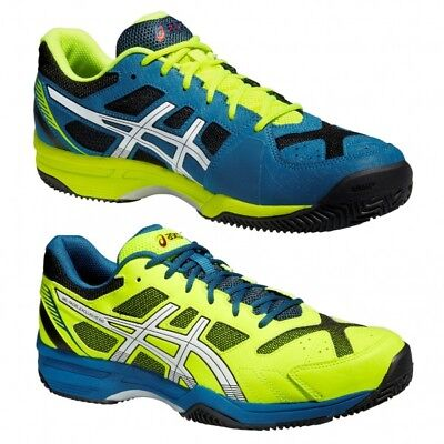 Mens asics Gel Padel Exclusive 4 SG Tennis court shoes trainers Size UK 10.5