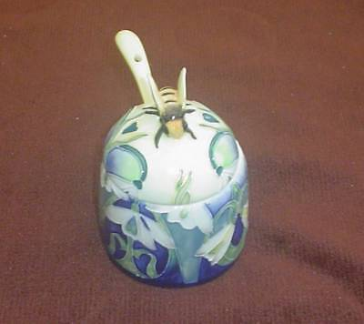 Old Tupton Ware Honey Pot & Spoon