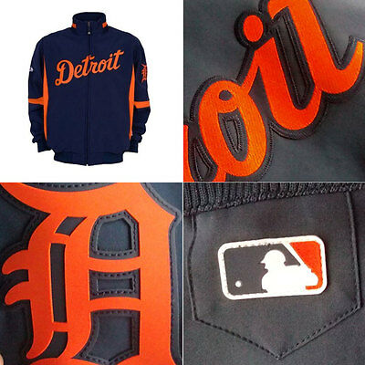 Detroit Tigers MLB Therma Base Premier Jacket Small