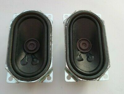 Speakers Rectangular 5W 8Ohm - Pair of Speakers 7 cm (L) x 4cm (W) x 2.5cm (D)