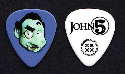 Rob Zombie John 5 Mad Monster Party Count Dracula Guitar Pick - 2015 Tour