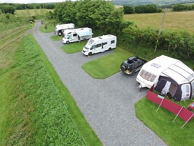 Dog Friendly Campsite North Devon Touring Caravan Motorhome Pitch