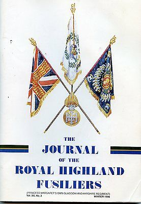 The  Journal of the Royal  Highland  Fusiliers Winter 1996