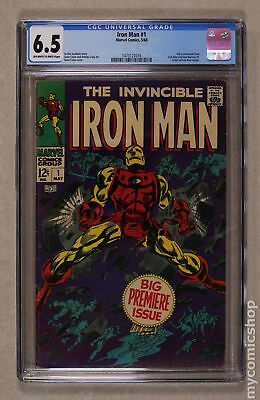 Iron Man (1968 1st Series) #1 CGC 6.5 1473127016