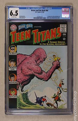 Brave and the Bold (1955 1st Series DC) #60 CGC 6.5 1351041014