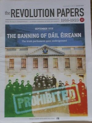 THE REVOLUTION PAPERS-part 23-Irish newspapers(1916-1923)PROHIBITED IRELAND-1919