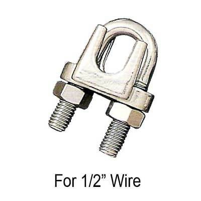"""1/2"""" Wire Rope Clip Stainless Steel Type 304"""