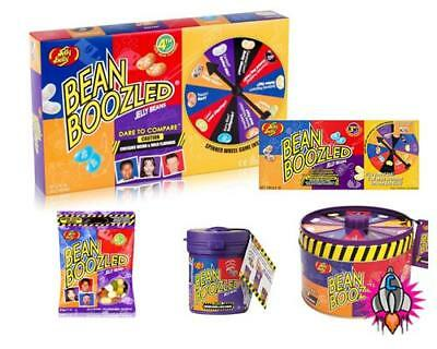 Bean Boozled Jelly Belly Beans 4Th Edition New Flavors Spinner Games Top Up Bag