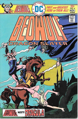 Beowulf Dragon Slayer Comic Book #4 Dracula Appearance DC Comics 1975 VERY FINE