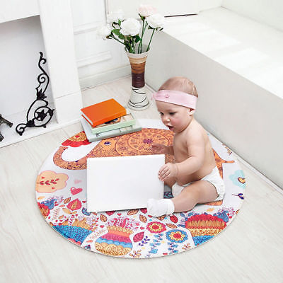 Soft Baby Gym Mat PlayMat Lay Sit Game Toy Cushion Crawling Blanket Floor Rugs