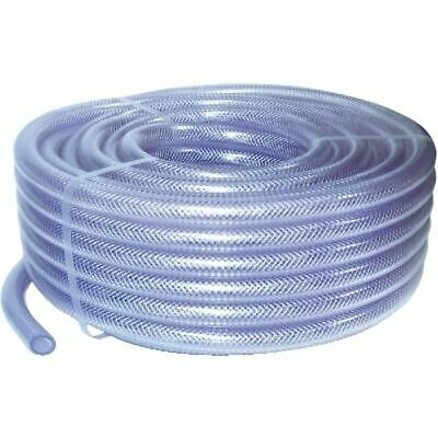 "Nylon Braided Tube Length: 30m Id. 1/4"" - 6mm. O/d - 11.5mm. 16 Bar"