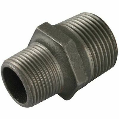 "Malleable Reducing Hex Nipple 2"" x 1.1/2"" M/M BSP"
