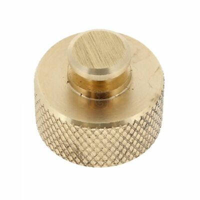 """Brass 1"""" BSP Female Thread Blanking cap with securing chain"""